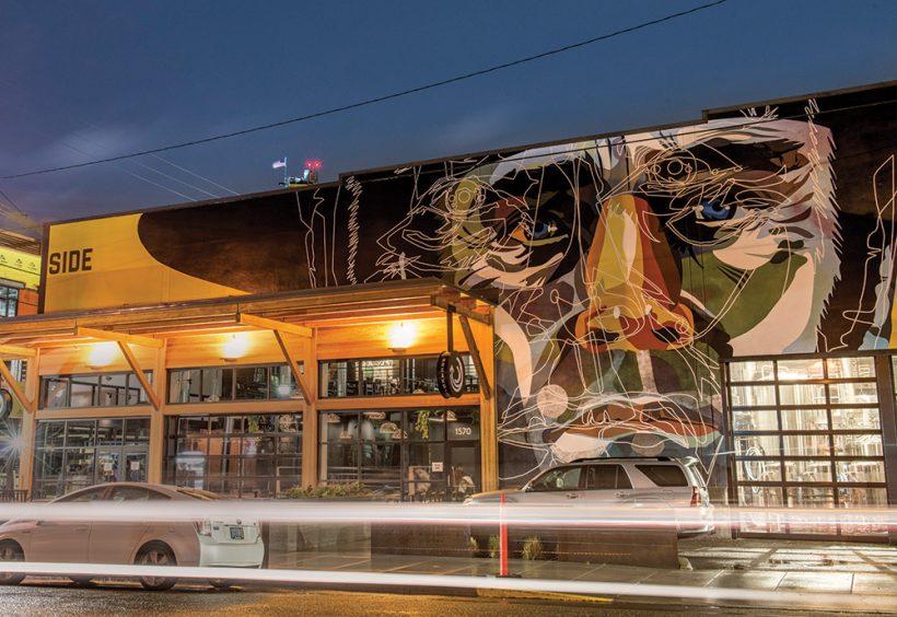 飞溅的色彩:酿酒厂添加壁画照亮邻里。