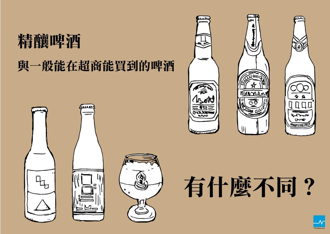 5张图让你对【精酿啤酒】进一步认识