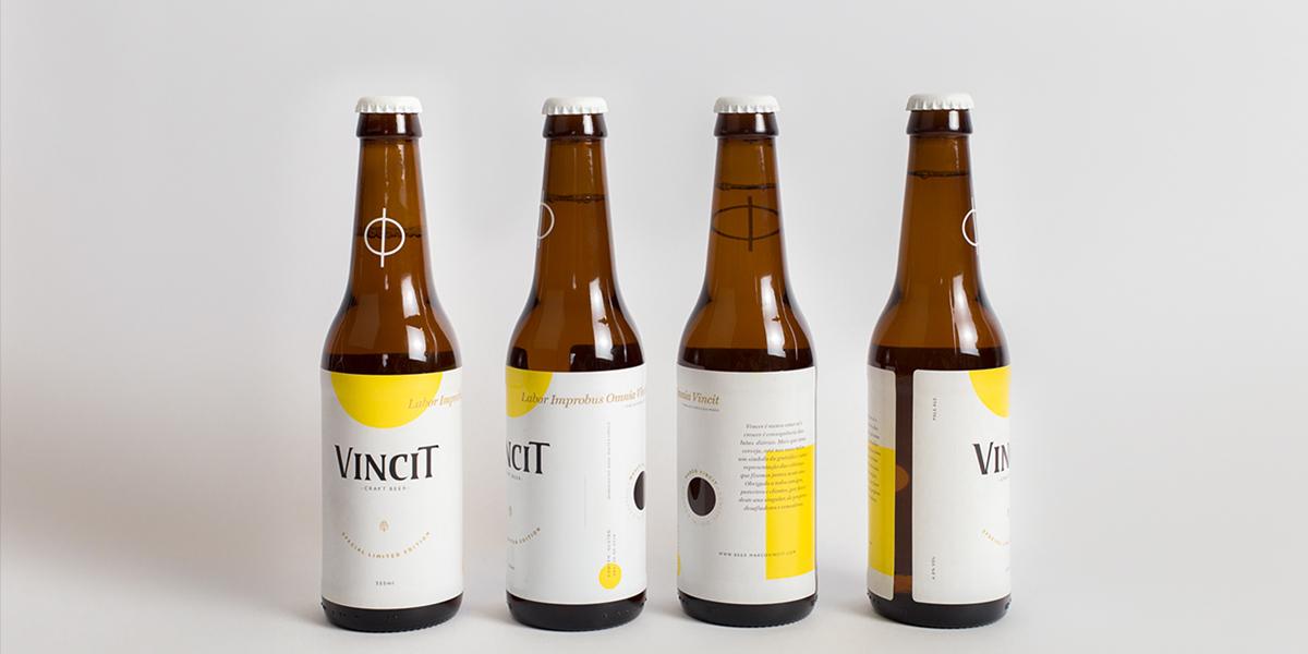 Vincit啤酒限量版包装-象征感恩与胜利