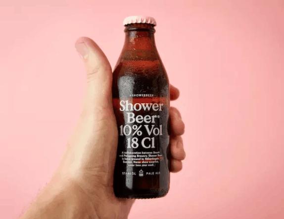 你有想过在洗澡时抿一口啤酒吗?